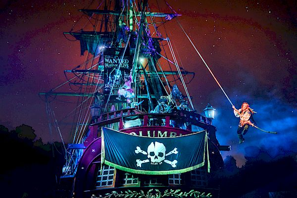 Fantasmic! at DISNEYLAND® Resort.