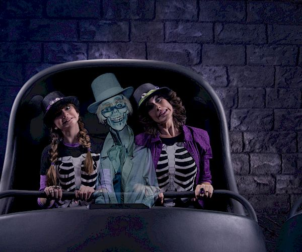 Haunted Mansion attraction at DISNEYLAND® Resort.