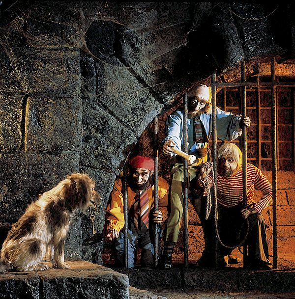 Pirates of the Caribbean Attraction at DISNEYLAND® Resort.