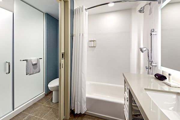 Guestroom Bath and Shower