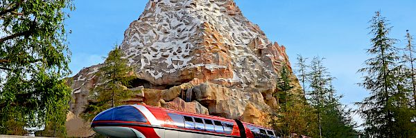 Matterhorn and Monorail at DISNEYLAND® Resort