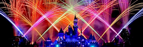 Fireworks at DISNEYLAND® Resort