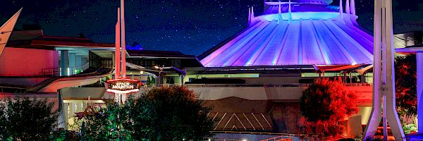 Space Mountain at DISNEYLAND® Resort